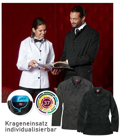 Wählen Sie Ihre CORPORATE DESIGN Damen Arbeitsjacke für Restautant & Hotel aus 3 Grundfarben aus