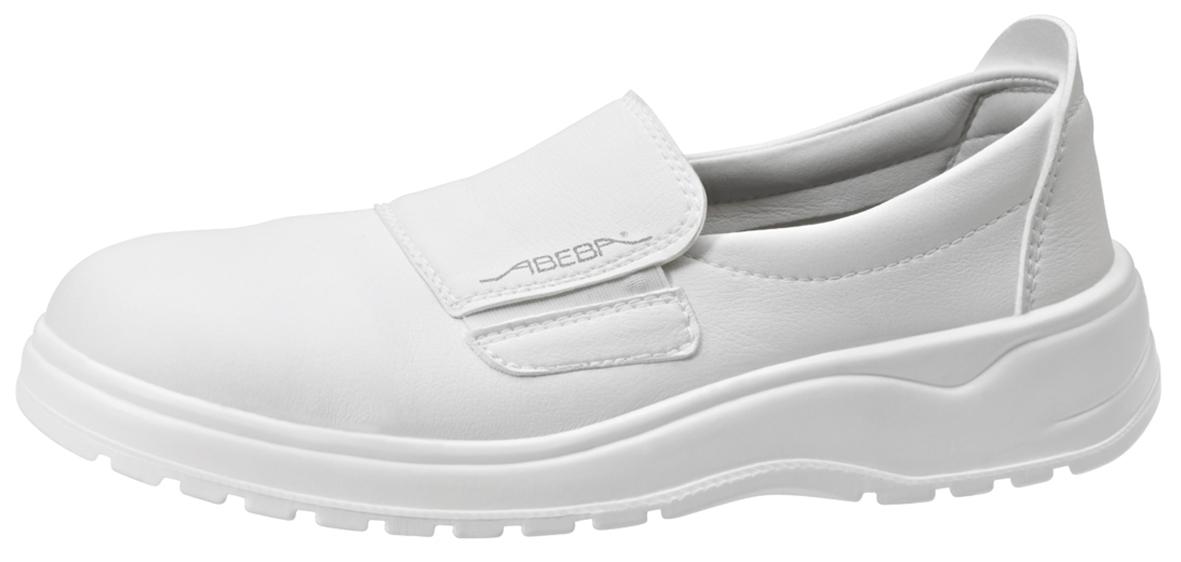 Waschbare Berufsschuhe light Slipper weiß
