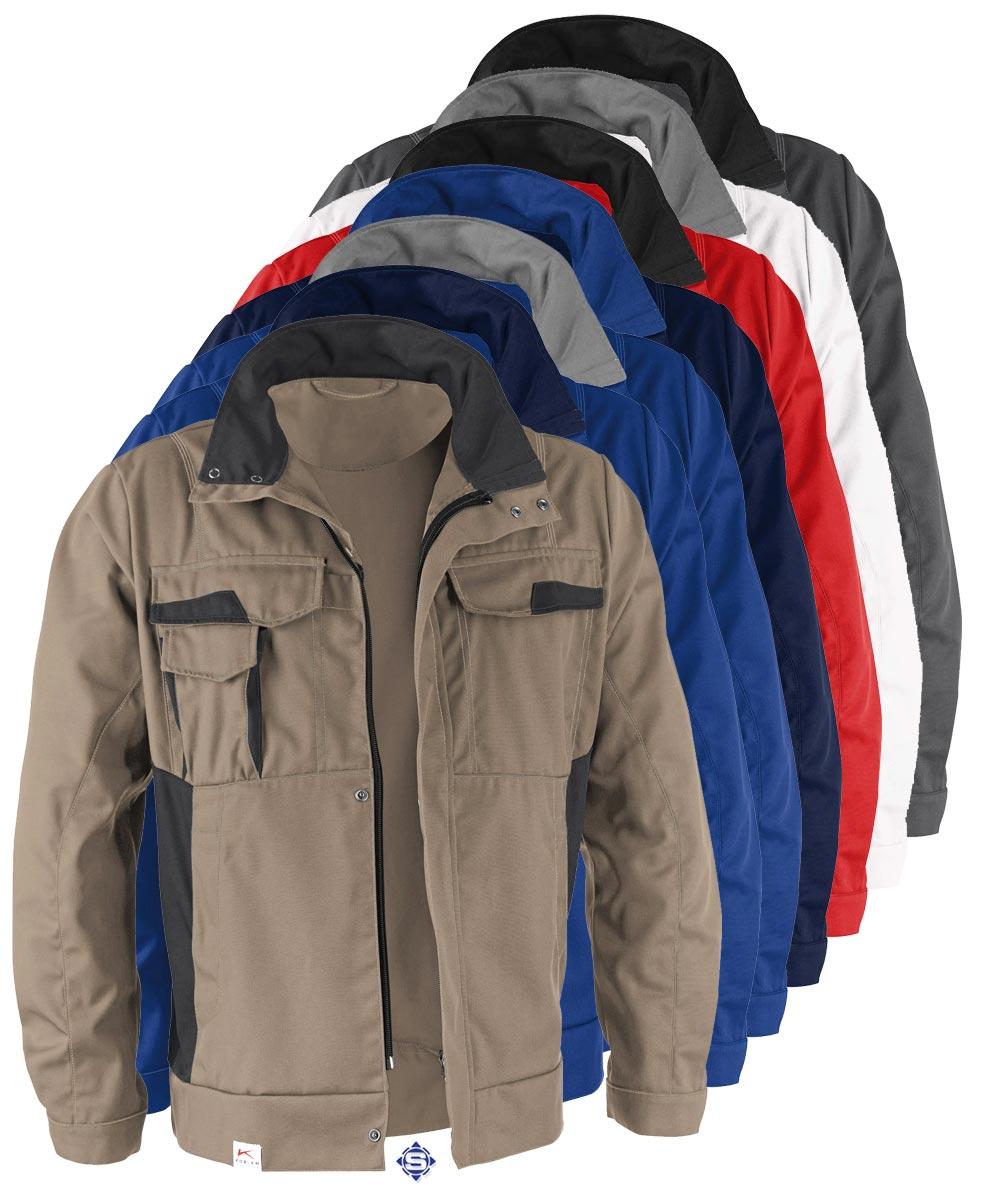 online store 26772 72afd KÜBLER VITA MIX Arbeitsjacke, Industriewäsche geeignet, 7 versch. Farben