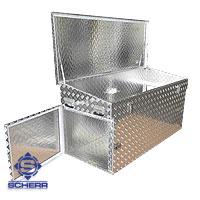 Aluminium Stauboxen
