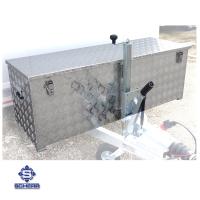 Aluminium Boxen Deichsel Aufbau