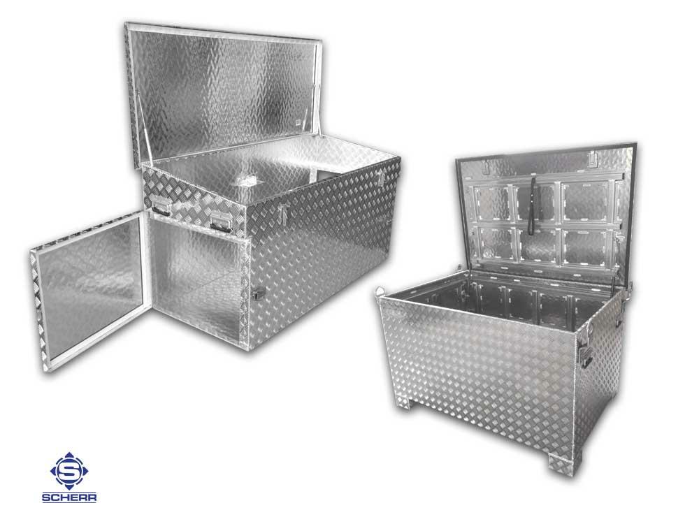 Sonderkonstruktionen nach Maß in 4 Millimeter Aluminium Wandstärke