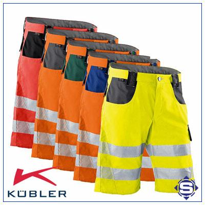 PSA Warnschutz kurze Arbeitshosen / Shorts von KÜBLER