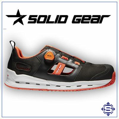 Ultraleichte atmungsaktive S1P Sicherheitsschuhe mit innovativem Belüftungssystem von SOLID GEAR