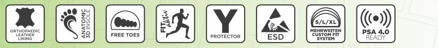 KOMFORT ESD SA S1 Sicherheitsschuhe mit hohem Tragekomfort, kaufen Sie online bei Scherr Fachhandel Online Shop