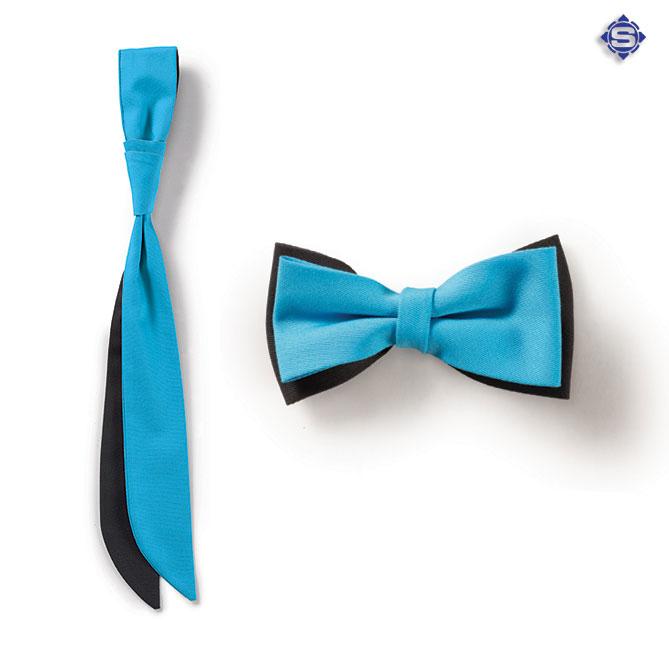 Herren Fliegen für den Service oder Office Arbeitsbereich. Damen Krawatten, stilvoll - mit Ihren Unternehmensfarben