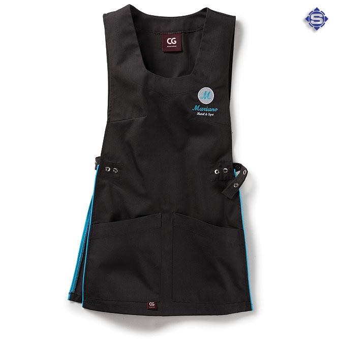 Wir übernehmen neben der Individualisierung der Papel an Ihrem Kasack auch die Bestickung / Patch Ihrer Berufsbekleidung