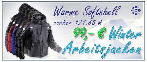 Unser Herbst / Winter Arbeitsjacken Angebot. KÜBLER Winter Softshell Jacke in 5 verschiedenen Farben, jetzt kaufen & sparen!