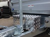 Aluminium Transportbox, L 600 x B 250 x H 250, 37 Liter