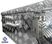 Aluminium Transportbox, L 1000 x B 400 x H 400, 160 Liter