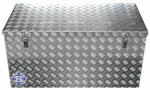 Aluminium Transportbox, L 1250 x B 400 x H 400, 200 Liter