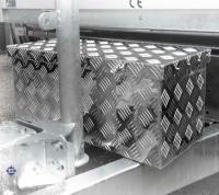 V - FORM, DEICHSEL Aluminium Boxen, L 600 / 500 x B 300 x H 350, 68 Liter