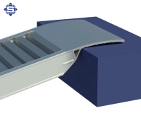Aluminium Auffahrrampen L: 2500, B: 300, Traglast bis 2000 Kg
