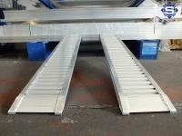 Aluminium Auffahrrampen L: 3000, B: 300, Traglast bis...