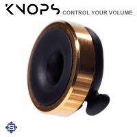 KNOPS mechanischer Gehörschutz / Ohrenstöpsel, Schwarz - Gold