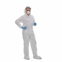 Einweg Schutzanzug tritex® pro weiß (Asbest) 25...