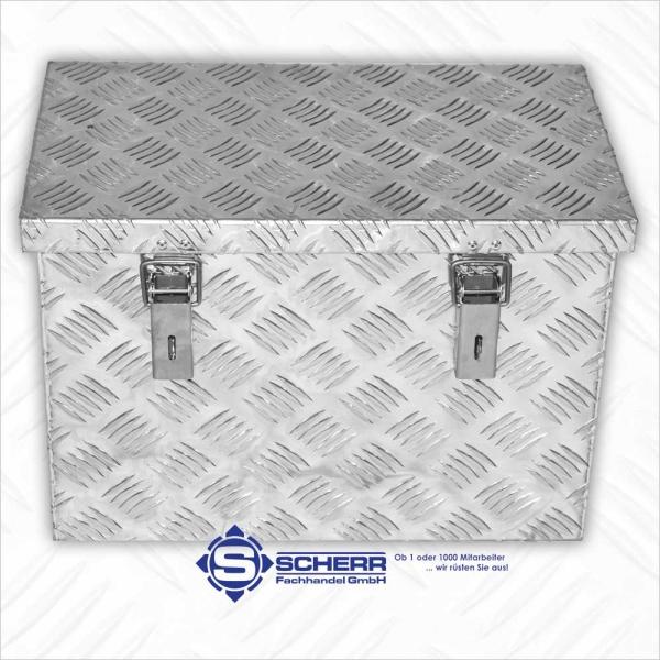 DEICHSEL Aluminium Boxen, L 500 x B 300 x H 350, 78 Liter