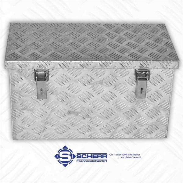 DEICHSEL Aluminium Boxen, L 600 x B 300 x H 350, 68 Liter