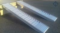 Aluminium Auffahrrampen L: 4000, B: 540 , Traglast bis...
