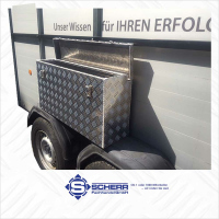 Deichsel-Box Wandbündig ca. 70 Liter L:800,...